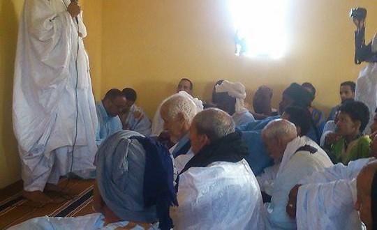 تدشين مسجد مريم النعيمي فى ابير التورس
